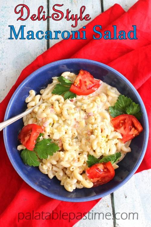 deli style macaroni salad