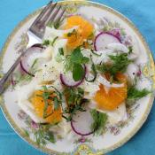 Fennel Salad with Honey-Orange Vinaigrette