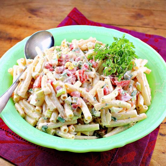 Fresh and Tasty Macaroni Salad