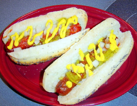 Hot Dogs on a Bun