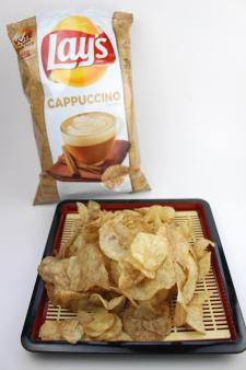 Lay's Cappuccino flavored potato chips