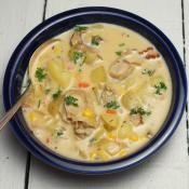 Oyster and Corn Chowder