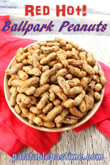 Red Hot BallPark Peanuts