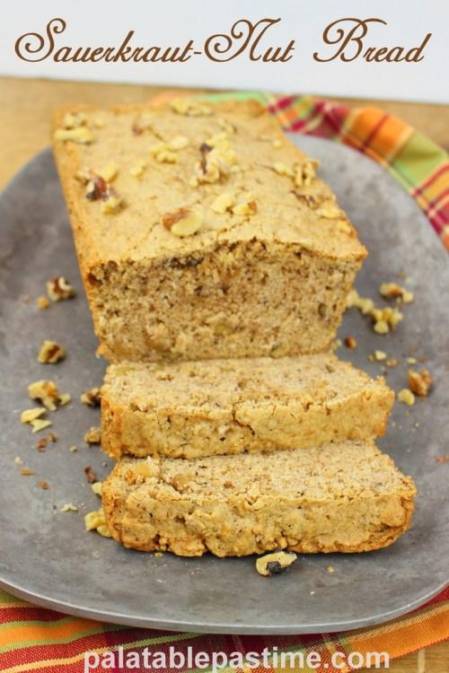 Sauerkraut-Nut Bread