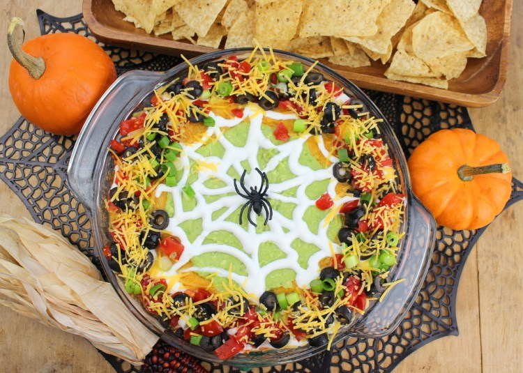 Foto: Palatable Pastime // halloween - recept - taco - dip