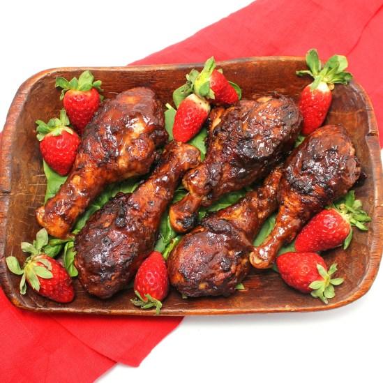 Strawberry Barbecue Chicken