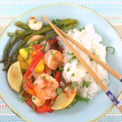 Thai Lava Shrimp