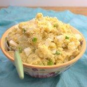 Mustard and Egg Potato Salad