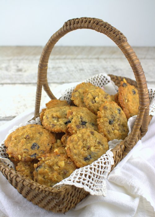 Blueberry Oatmeal Chocolate Chip Cookies