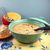 Creamy Chicken and Stars Soup