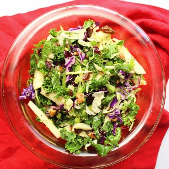 Kale and Apple Slaw