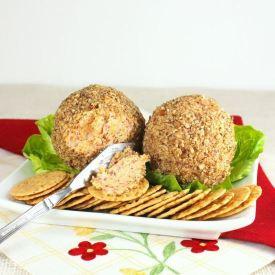 Beefy Cheddar Cheese Ball