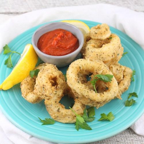 Garlic Fried Calamari