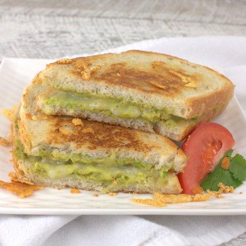 Grilled Guacamole and Cheese