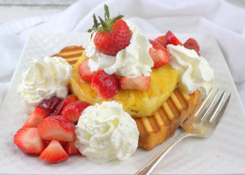 Grilled Strawberry Pineapple Shortcake