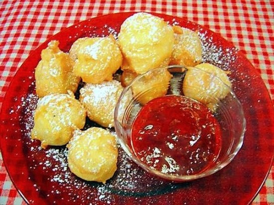 French Pate Choux Beignets