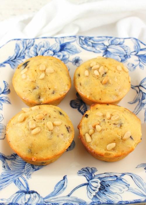 Olive and Bergamot Muffins