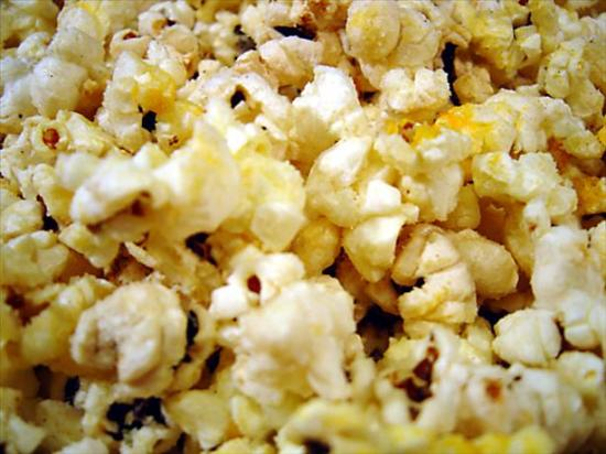 Garlic Butter and Cheese Popcorn