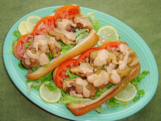 Fried Oyster Po' Boys
