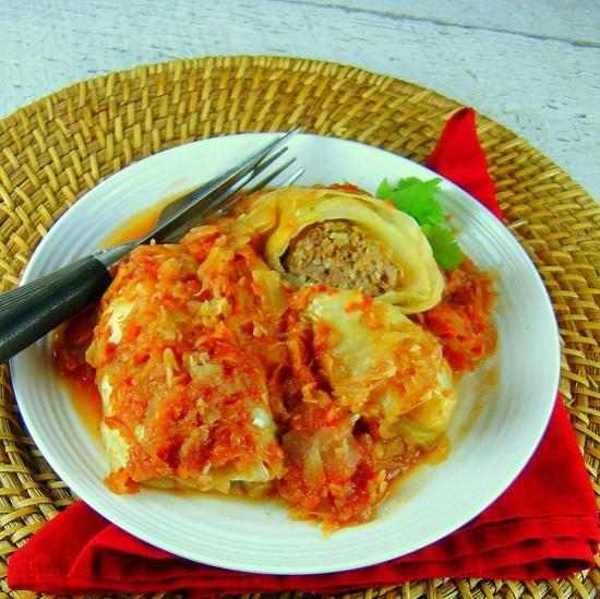 Sauerkraut Cabbage Rolls