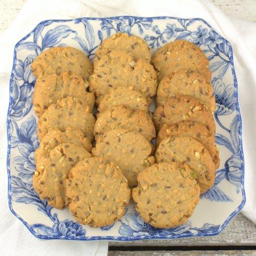 Seeded Peanut Butter Cookies
