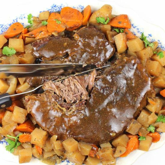 TDF Crockpot Roast (Minus all that Salt!)