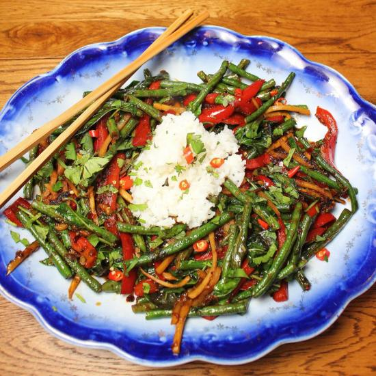 Thai Style Long Bean Stir-fry