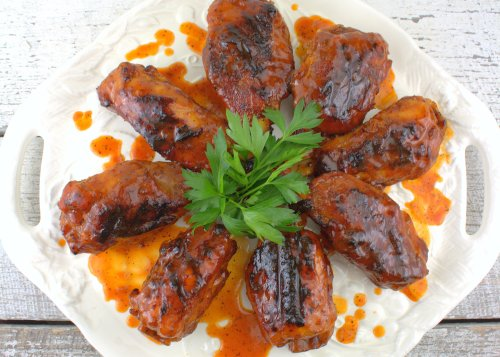 When Pigs Fly: Smoky BBQ Hog Wings