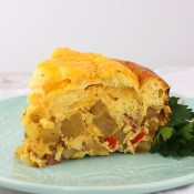 Potato, Ham and Cheese Breakfast Casserole