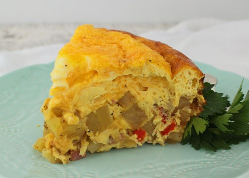 Potato, Ham and Cheese Breakfast Casserole