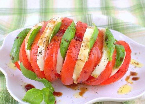 Hasselback Salad Caprese