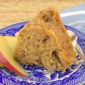 Apple Pecan Spice Cake (Reduced Carb)