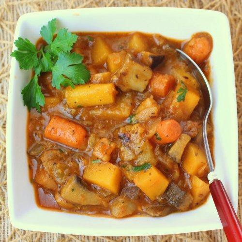 Healthy Vegan Vegetable Stew