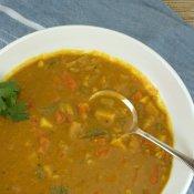 Navratan Korma Soup (Vegetable Curry Soup)