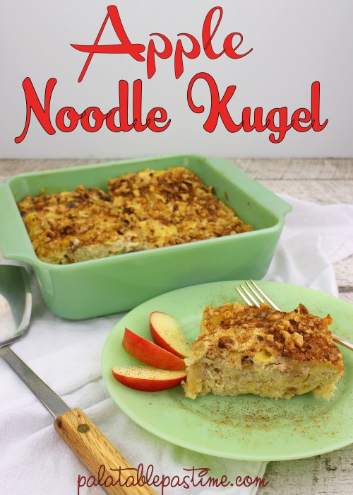 Apple Noodle Kugel
