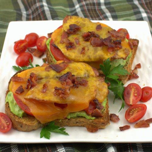 Bacon, Avocado and Tomato Melt