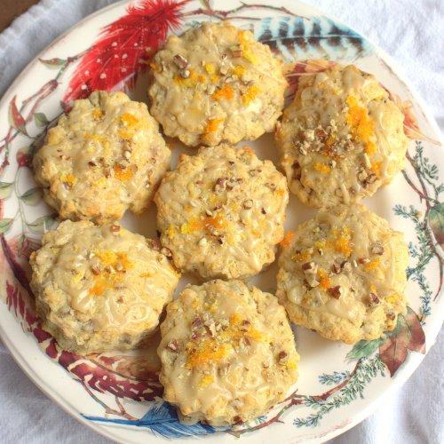 Orange Pecan Biscuits