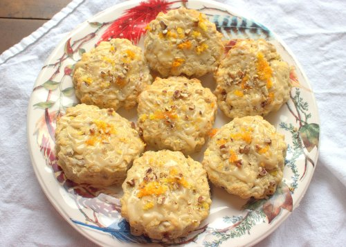 Orange Pecan Biscuits