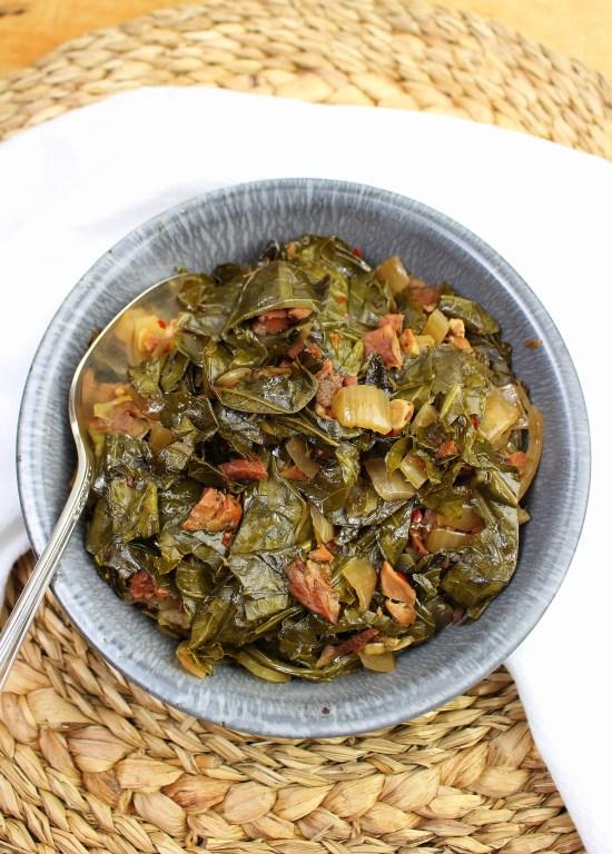 Crock Pot Collard Greens