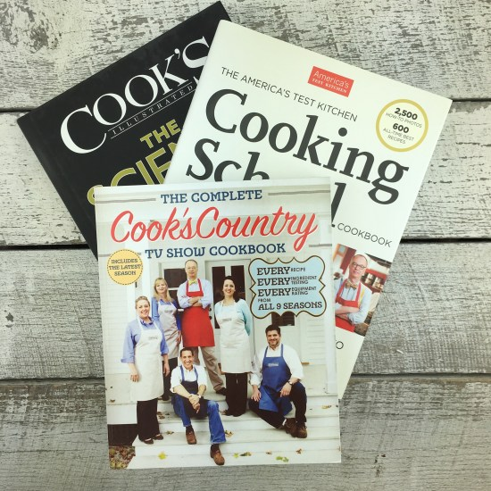 Cooks Illustrated Cookbooks