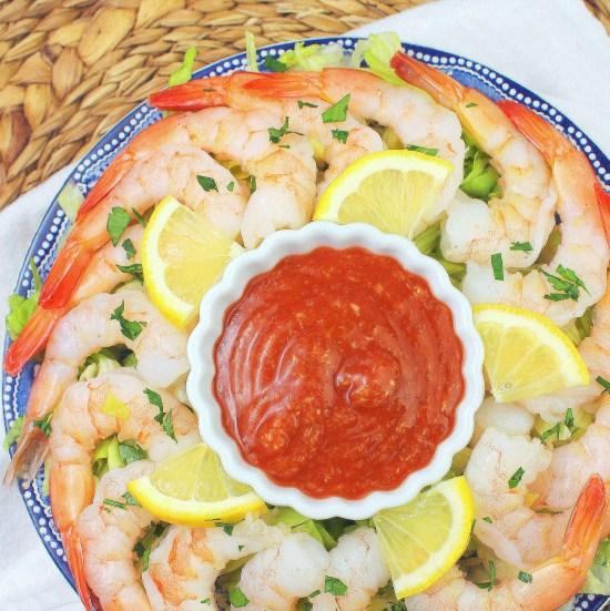 Simple shrimp cocktail sauce