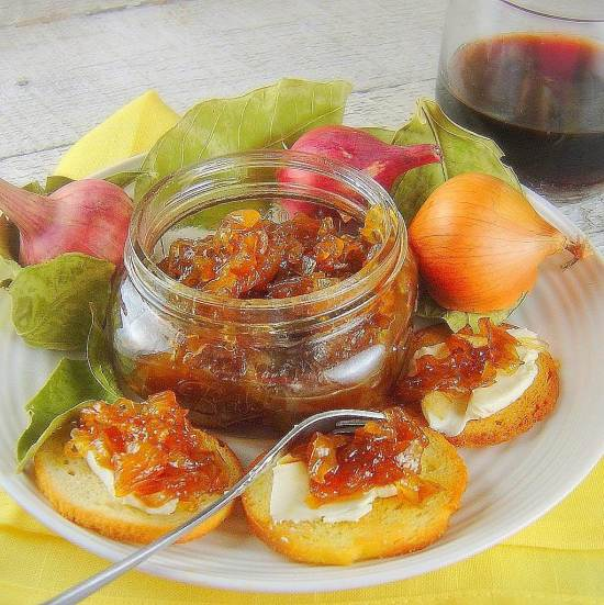 Caramelized Balsamic Onion Jam