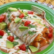 Wet Breakfast Burritos