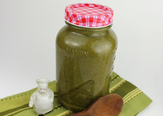 Green Poblano Hot Sauce