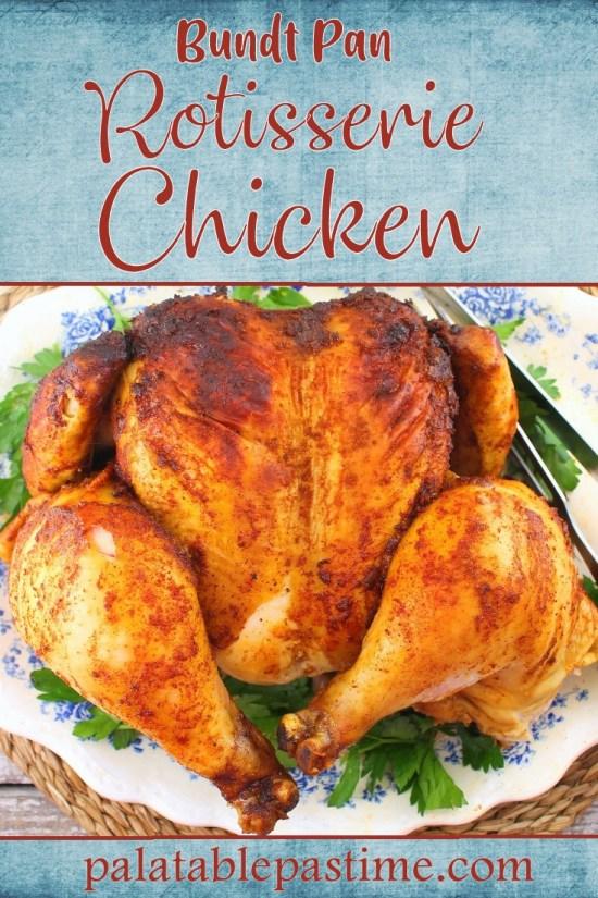 Bundt Pan Rotisserie Chicken
