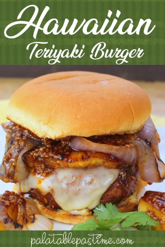 Hawaiian Teriyaki Burgers