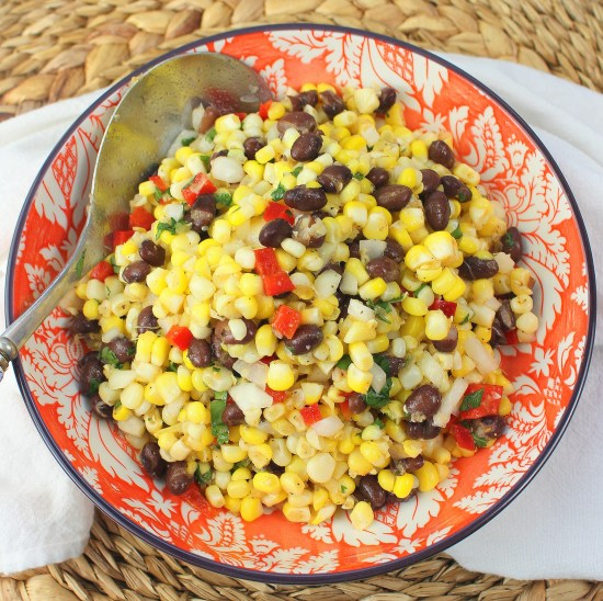 black bean and corn salad sq