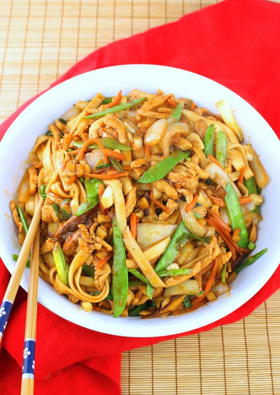Spicy Chicken Stir-fry Noodles