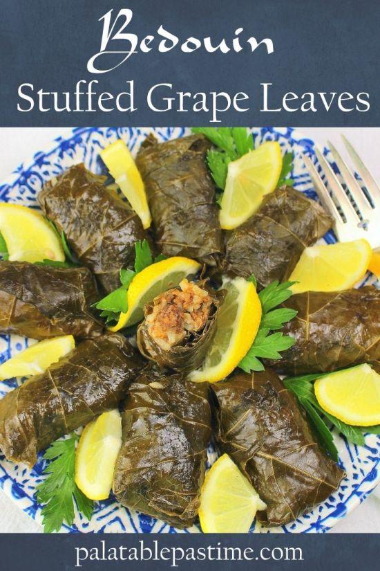 Bedouin Stuffed Grape Leaves