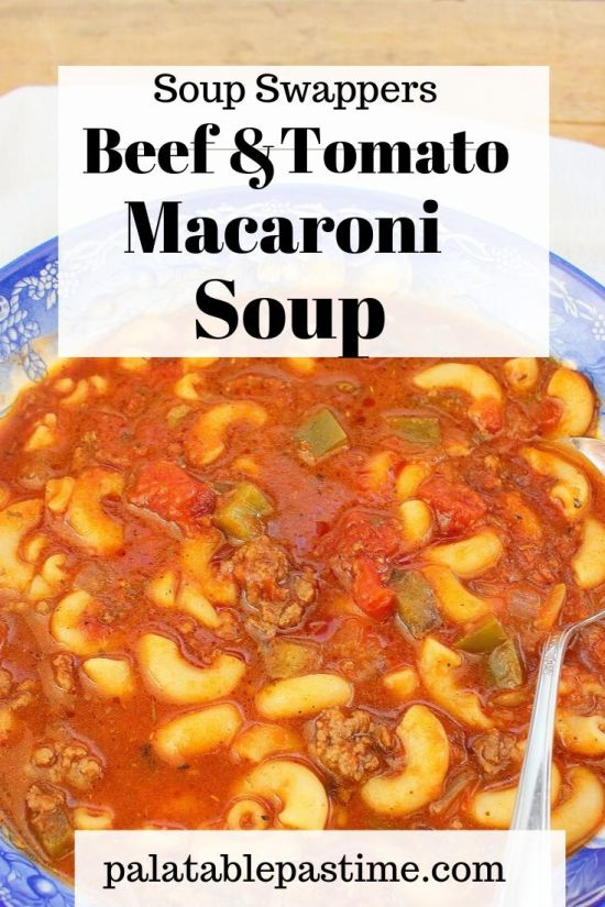 beef macaroni and tomato soup